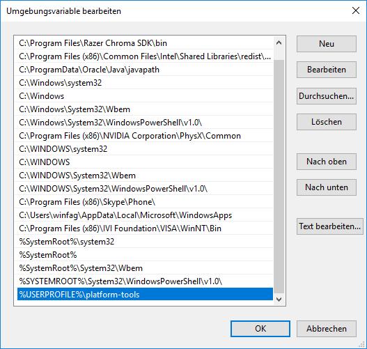 LineageOS auf Samsung Galaxy installieren (Windows 10)
