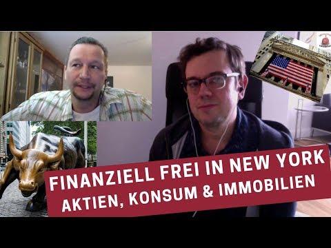 Finanziell frei in New York - Aktien, Konsum & Immobilien - Finanz Blogger Tim Schäfer