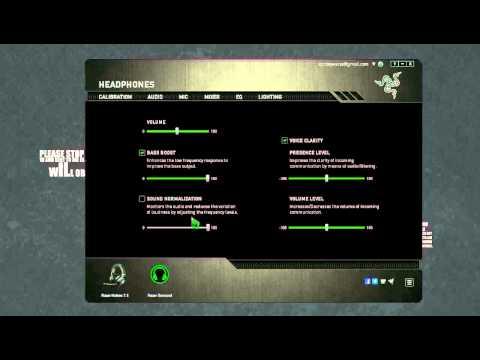 Razer Kraken 7.1 Optimal Settings