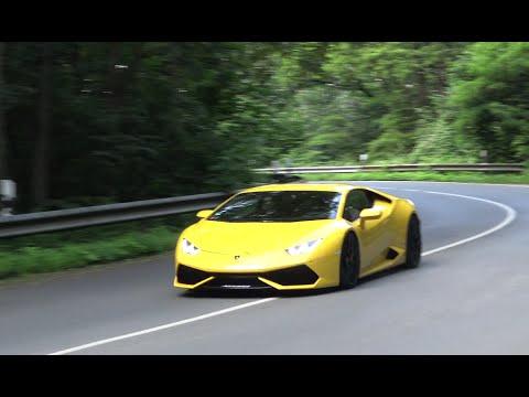 Lamborghini Huracán Race Exhaust Loud Sound!