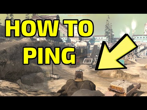 How To Ping An Enemy, Ping An Object On The Ground, and Ping Danger In The World (WARZONE) | Kalmarn
