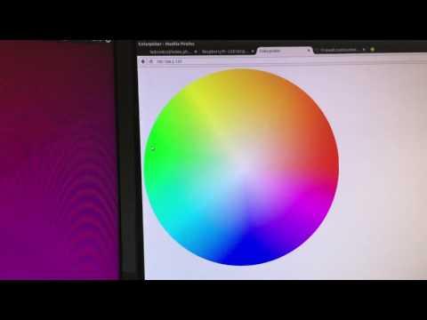 Raspberry Pi - LED Strip Steuerung/Control Webinterface
