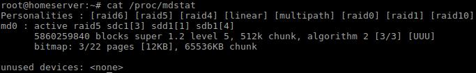 linux raid 5 verschlüsseln