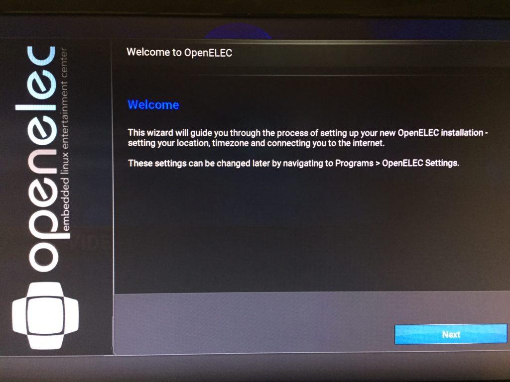 Raspberry Pi 3 - Install Kodi/OpenElec 3