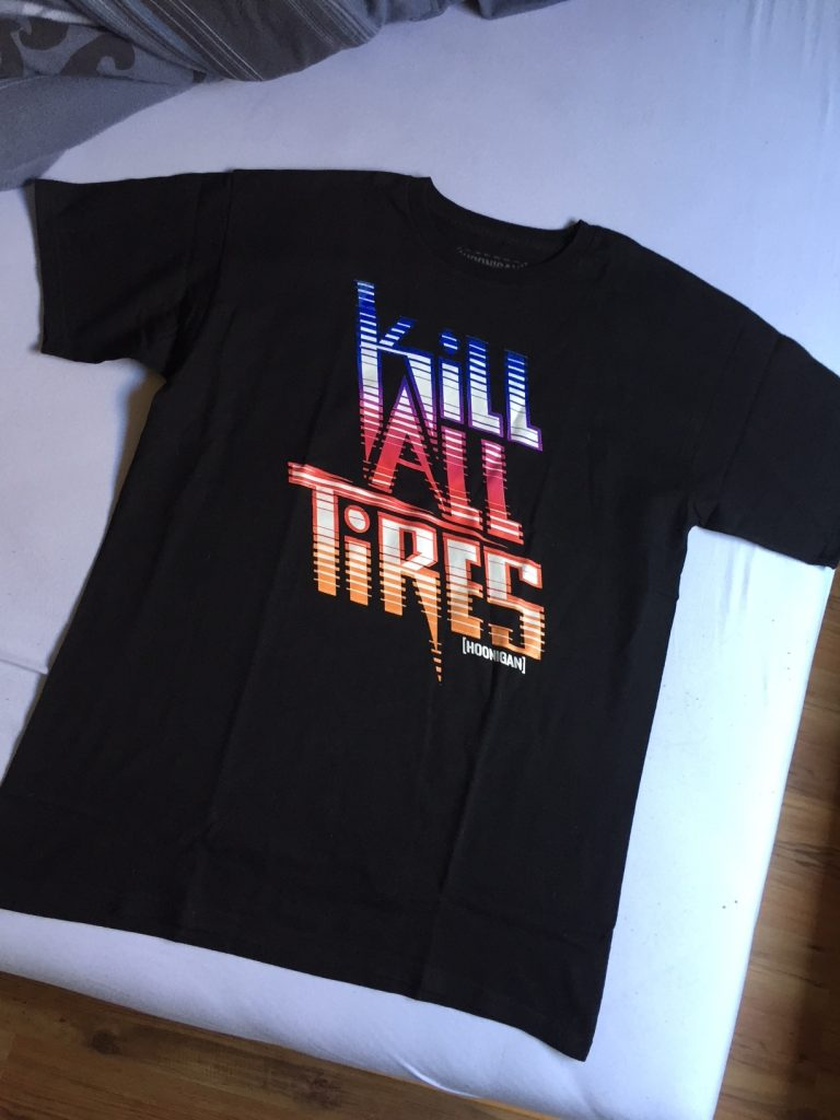 Hoonigan Online Shop - Kill all tyres - TShirt