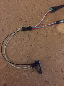 wemos d1 mini ws2812b led strip ansteuern