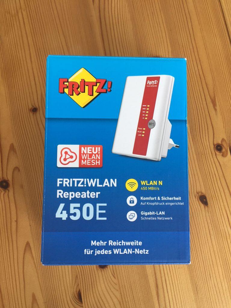 Fritz WLAN Repeater 450e