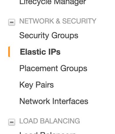 Amazon EC2 - Statische IP Adresse 1