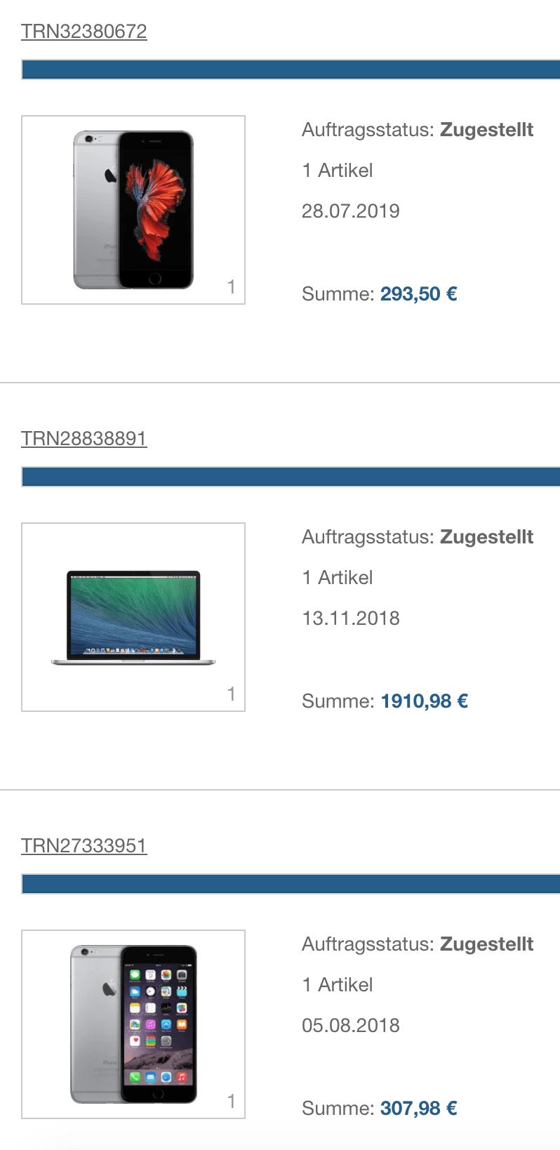 rebuy iphones und macbook pro