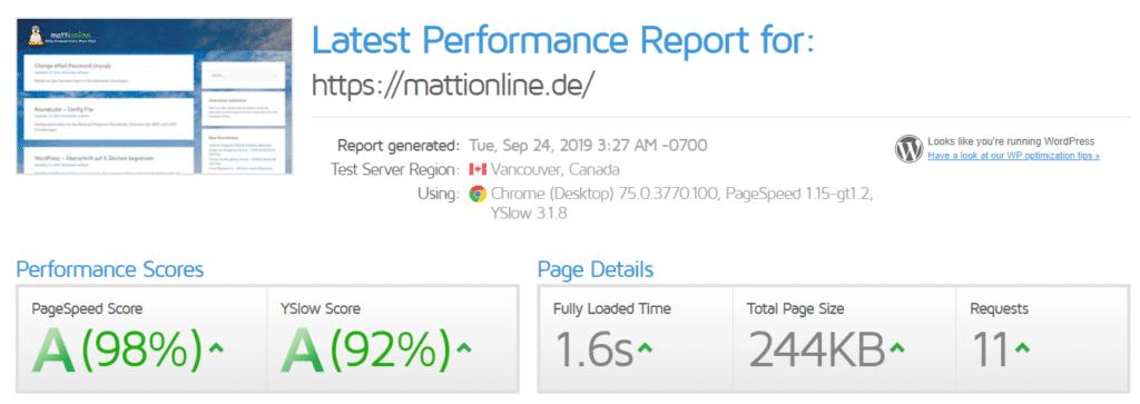 Wordpress schneller machen (Ladezeitoptimierung)