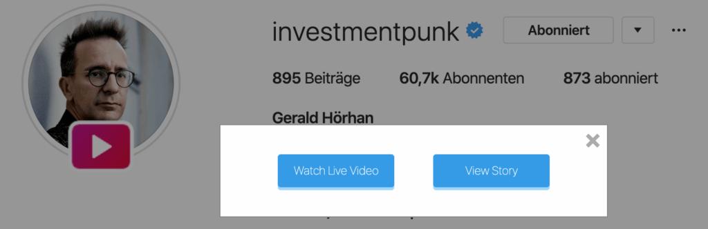 Instagram Livestream herunterladen
