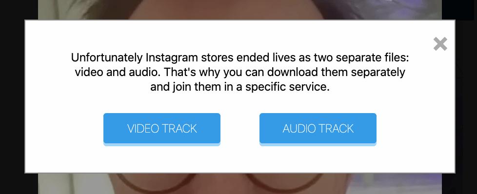 Instagram Livestream Video herunterladen