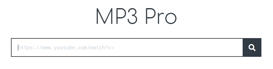 Der beste YouTube to MP3 Downloader -> mp3pro.xyz