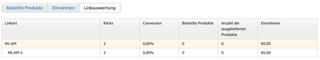 Amazon Product API 5.0 Umstellung 5