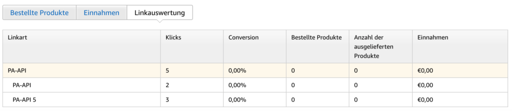 Amazon Product API 5.0 Umstellung 6