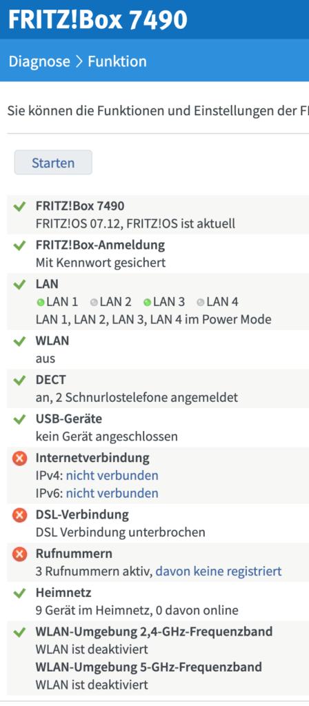 Fritzbox funktioniert nicht (Kein Internet) 1