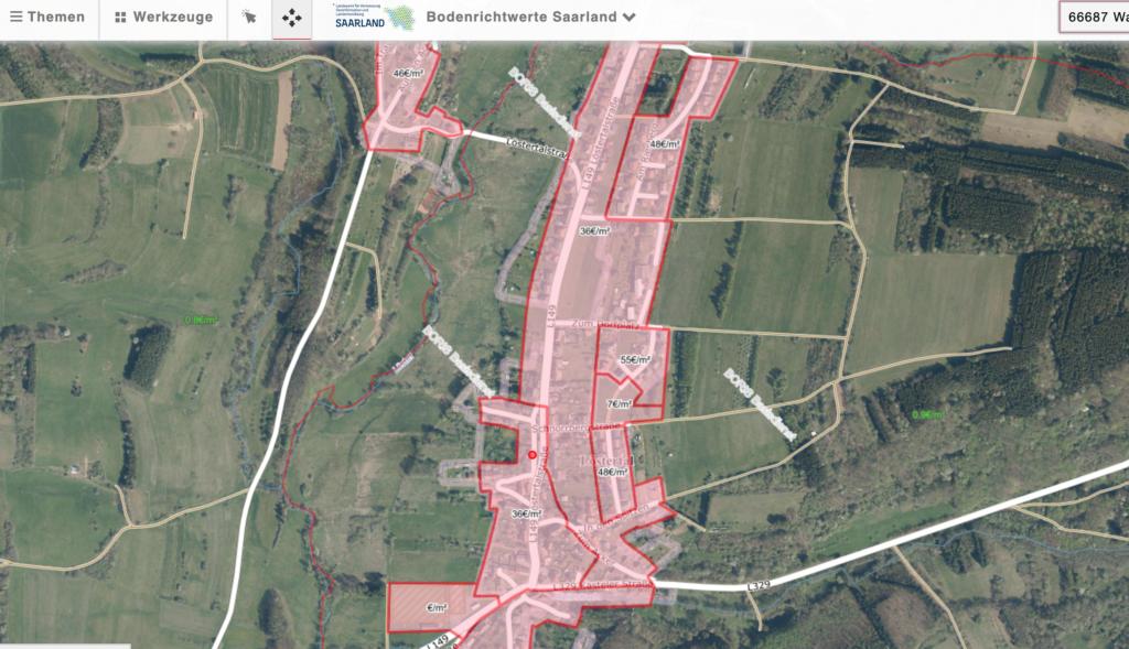 Grundstückswert ermitteln (Saarland) 5