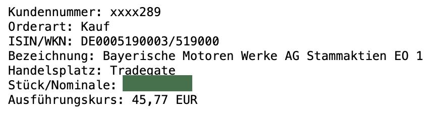 65% mit BMW Anteilen 1