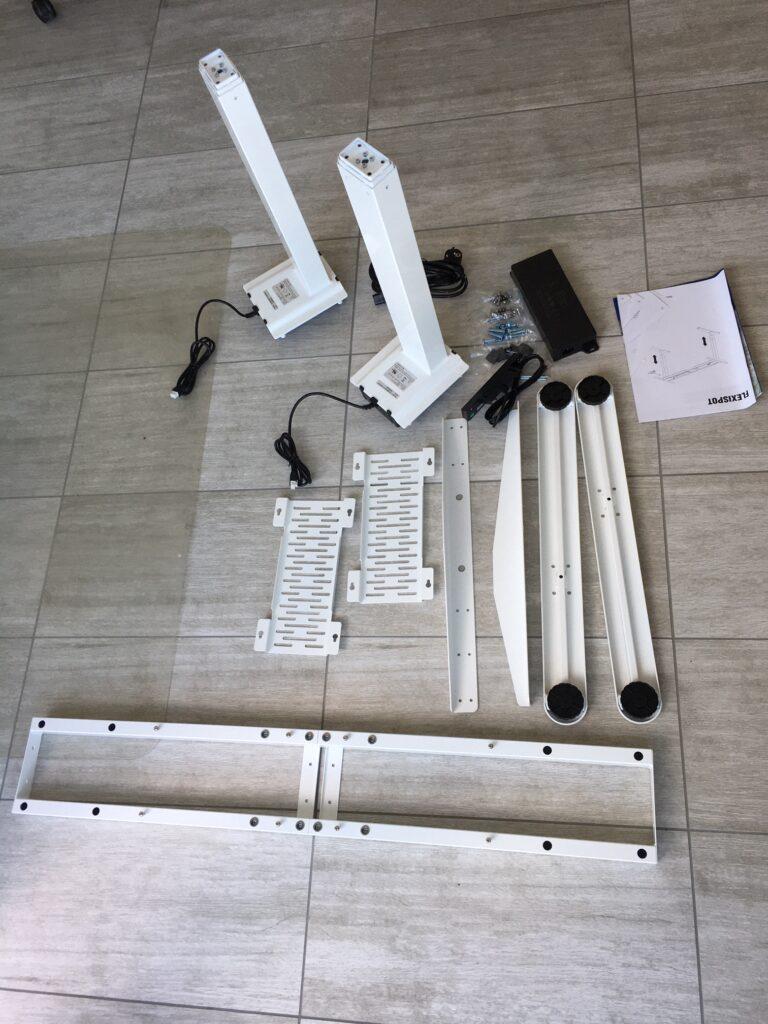 Höhenverstellbarer Flexispot Schreibtisch im Test